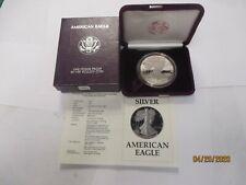 1987 S American Silver Eagle $1 Proof w//OGP /& COA