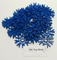 20 K'NEX Rare Blue Connectors 8 Position 360 Round Bulk Parts Pieces Lot KNEX
