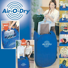 Air-O-Dry mini Portable Electric Clothes Dryer Bag Blue 110v/220v Brand New US