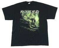 Machine Head Unto The Locust Summer 2011 Tour Black T Shirt New Official Merch