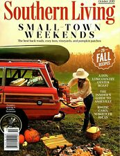 NEW 2019 Southern Living Small Town Weekends 29 Fall Recipe October Vol 54 No 10