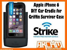 STRIKE ALPHA APPLE IPHONE 6 CAR CRADLE FOR GRIFFIN SURVIVOR CASE DIY - CHARGER