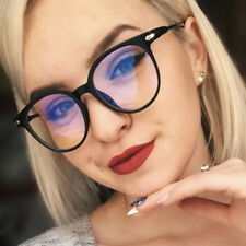 8b973a5e1100 Women Retro Round Frame Sunglasses Clear Lens Glasses Sun Glasses Ladies