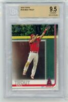 2019 Topps Series One #100 Mike Trout BGS 9.5 Gem Mint Graded Baseball Card