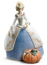 LLADRO CINDERELLA FIGURINE #9353 BRAND NEW IN BOX DISNEY PRINCESS CUTE SAVE$ F/S
