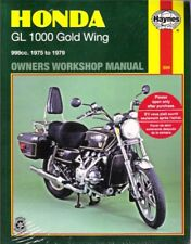 1975-1979 Honda Gold Wing GL1000 Haynes Service Repair Manual Book 7108 / 7106