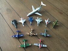 LOT OF 11 TOOTSIETOY AIRPLANES and 1 ROAD CHAMPS Jet Liner ~ Diecast