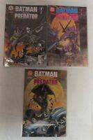 DC Comics Batman versus Predator #1,2b,3b Run Lot Set of 3