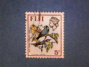 Fiji. QE2 1975 5c Birds & Flowers. SG509. Wmk Ww14. P13½ x 14. Used.