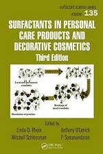 Surfactants in Personal Care Products and Decorative Cosmetics, Third Edition (S