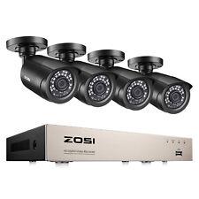 ZOSI 8ch 1080p HDMI DVR 1500tvl Outdoor IR CCTV Home Security Cameras System Kit