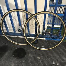 Mavic Reflex Dura Ace 7600 Track Wheelset Fixed Gear Njs
