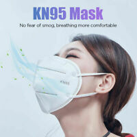 10 Pack KN95 Disposable Face Mask Cover 5-Layer Respirators Protective KN-95