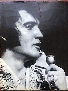 Original 1971 Elvis International Las Vegas Menu / Not Hilton / From Memphis