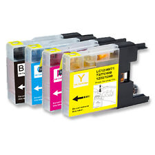 4 Pack New Ink Jet Bundle Set for Brother LC71 LC75 MFC J625DW J825DW J835DW