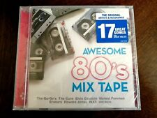 Awesome 80's Mix Tape /David Bowie, The Cure, Elvis Costello, Go-Go's CD NEW