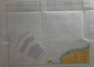Admiralty 2644 Ile D'Ouessant to Ile De Batz France Nautical Geographical Chart