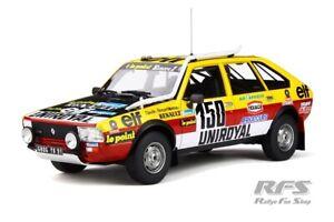 Renault 20 Turbo 4x4 Winner Rally Paris Dakar 1982 Claude Marreau 1:18 OttO 821