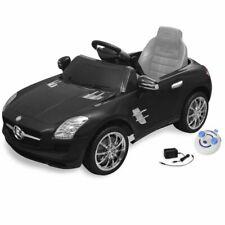 vidaXL Elektrische Auto met Afstandsbediening Mercedes Benz SLS AMG Zwart Kind