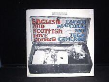 English and Scottish Love Songs Ewan MacColl & Isla Cameron Riverside 12-656 lp