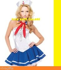 Captain Sailor Ocean Theme Fancy Dress Up COSTUME Size 8/10