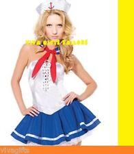 Ladies Captain Sailor Fancy Dress COSTUME Size 8/10