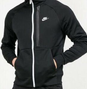 Mens Nike Tech Premium Full Zip Top. Black. Size Large. RSP£60
