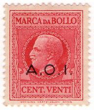 (I.B) Italy (East Africa) Revenue : Marca da Bollo 20c