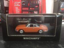 Minichamps VW Karmann Ghia 1600 Naranja 1966 1/43 MIB Ltd Ed