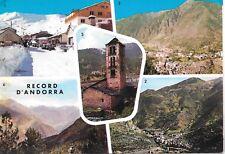 Andorra, Sp Adm. Circa 1960's Multi View w/ 2 values to Usa