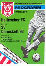 II. BL 91/92 Hallescher FC - SV Darmstadt 98, 08.12.1991