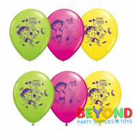 Dora the Explorer Printed Latex Balloons Party Decoration Supplies