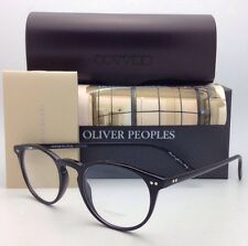 New OLIVER PEOPLES Eyeglasses RILEY R BK OV 5004 1005 45-20 Black Frame w/ Demo