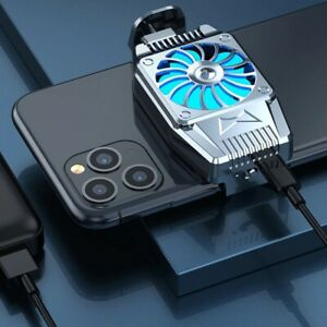 Mini Mobile Phone Cooling Fan  Hurricane Game Cooler   For IPhone/Samsung/Xiaomi