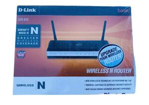 NEW D-Link DIR-615 802.11n 802.11g 4-Port 10/100 Wireless N RouterOpen Box