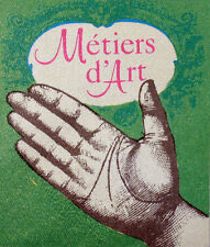 METIERS D ART    Yt 2013  FRANCE FDC ENVELOPPE PREMIER JOUR