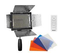Yongnuo YN-160 II LED Lampe Videoleuchte mit Mikrofon + Umgebungslichtanpassung