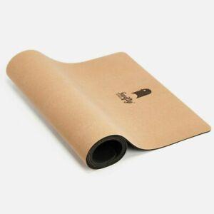 Swifty Cork Yoga Mat Naturally Anti-Slip Anti-Microbial, 6mm Thickness
