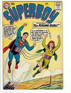 Superboy #72 Very Fine+ 8.5 Lana Lang Rebello John Sikela Art 1959