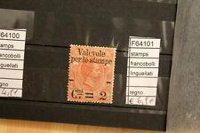 FRANCOBOLLI STAMPS ITALIA REGNO LINGUELLATI (F64101)