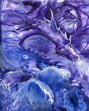 SEA DRAGON 8X10  Print from Artist Sherry Shipley