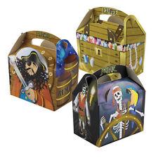 8 para niños niños Pirata llevar comida alimentos Picnic botín Fiesta De Cumpleaños Bag Cajas