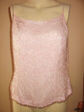 PLANET SOFT PINK TOP 100% SILK BRAND NEW SIZE 12