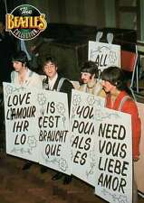 """"""" All You Need Is Love """", Sunday, June 25, 1967 --- Beatles Trading Card"""