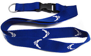 US Air Force Airforce USAF Wings Printed Lanyard With Detachable Key Ring