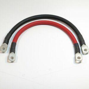 Kabel Verlängerung Batterie Polklemme - 34mm² 30cm rot oder schwarz