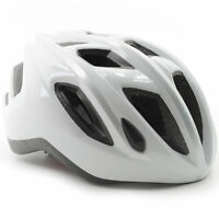 MET Espresso Bike Helmet // White/Silver