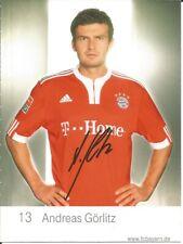 FC Bayern München Autogrammkarte Andreas Görlitz