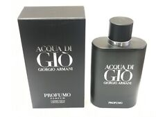 Acqua Di Gio PROFUMO Giorgio Armani Men 4.2 oz 125 ml *Eau De Parfum* Spray Nib