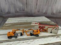Grip zechin Hitachi uho3d clumshell construction truck trailer set